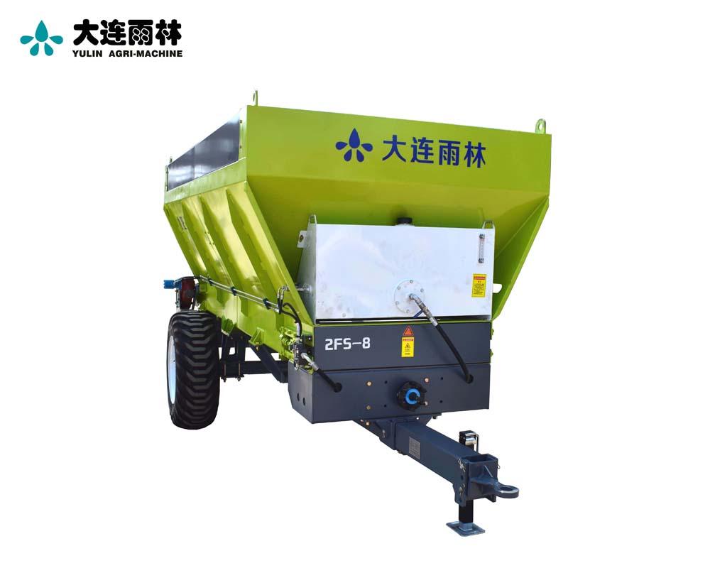 雨林8吨农用土杂肥抛肥车