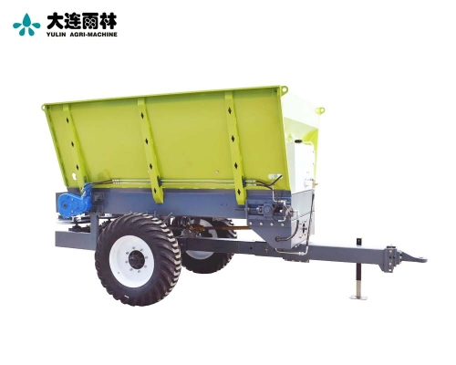 雨林5吨农用土杂肥抛肥车
