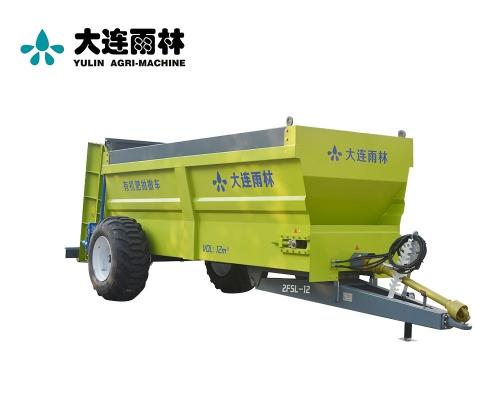 雨林12吨农田高效厩肥扬肥机