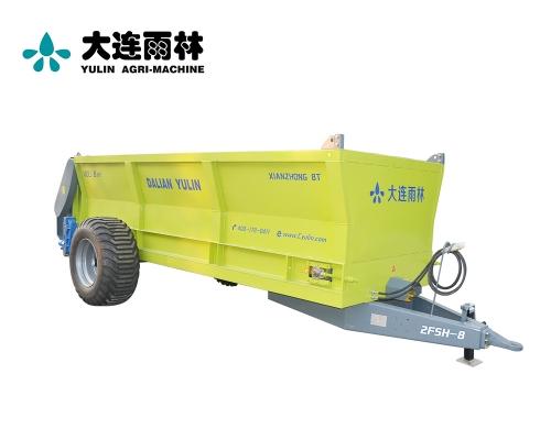 8吨农田高效厩肥扬肥机
