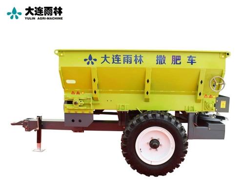 拖拉机牵引式2立方有机肥撒肥机