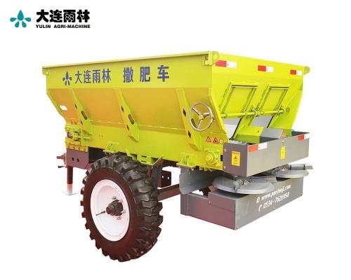 农场全自动固态有机肥撒肥车