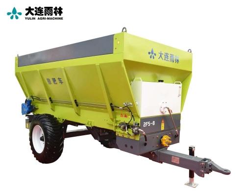 拖拉机后传动有机肥撒肥机