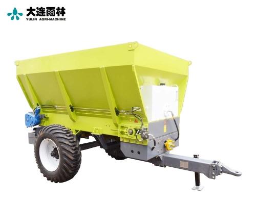 新款5方农用有机肥撒肥车