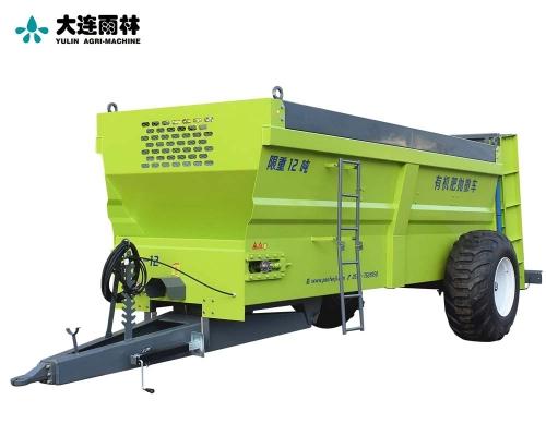 雨林大型立轴后抛式厩肥施肥机