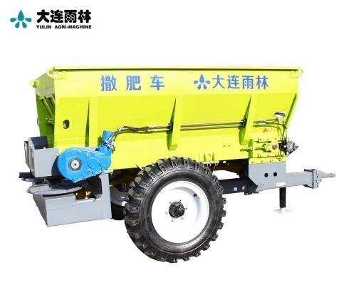 拖拉机后置撒肥机圆盘抛撒肥料机
