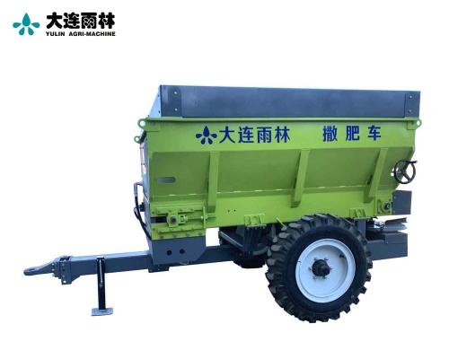 拖拉机后置撒肥料机