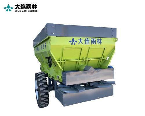 拖拉机牵引式3立方有机肥撒肥机