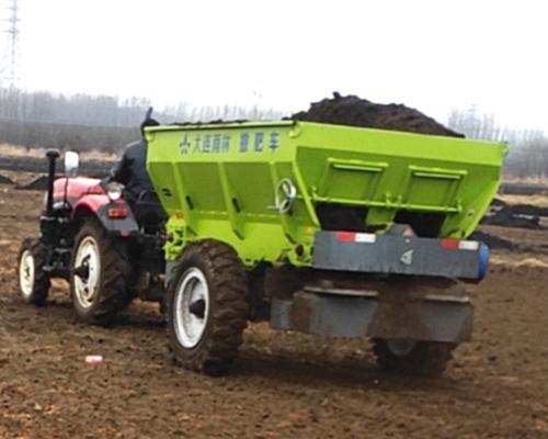 拖拉机动力输出型撒肥机