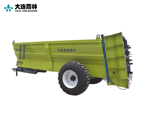 农用多用途四轮后动力输出扬肥机