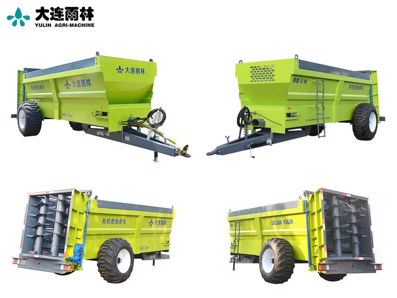 固体有机肥施肥机