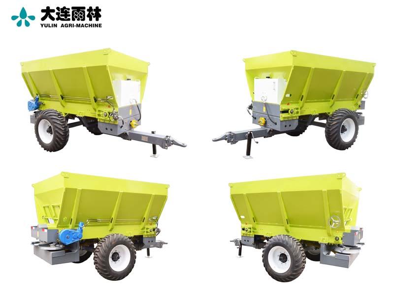 四轮拖拉机后置大型撒肥机