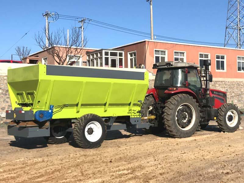 撒肥料机器